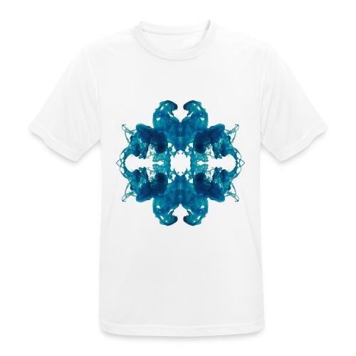 Tintenklecks unter Wasser - Männer T-Shirt atmungsaktiv