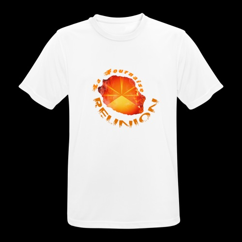Collection Lo Mahavéli Volcan La Fournaise - T-shirt respirant Homme