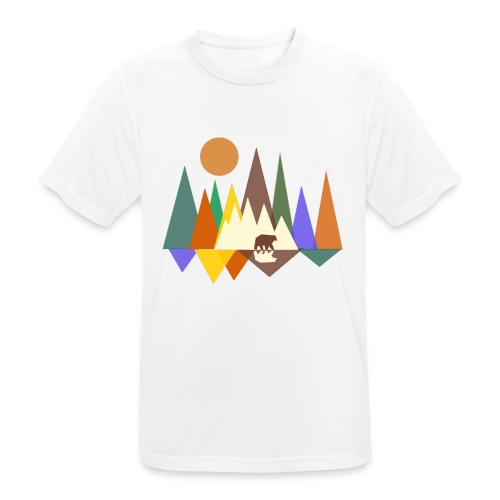 bos - mannen T-shirt ademend