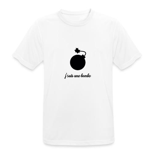 T-shirt J'suis une bombe - T-shirt respirant Homme