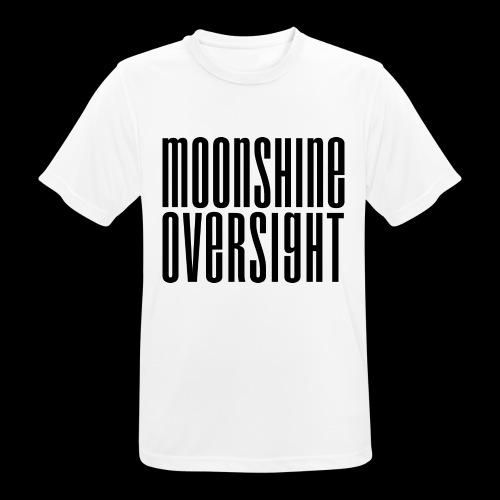 Moonshine Oversight noir - T-shirt respirant Homme