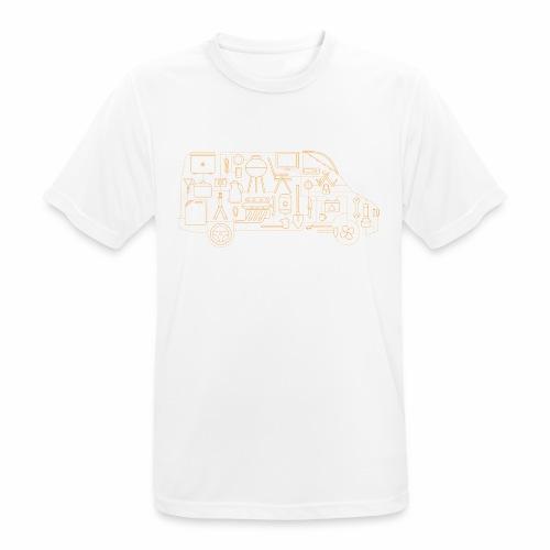 4WheelsOnTour - Männer T-Shirt atmungsaktiv