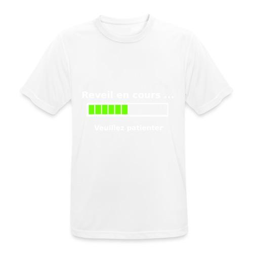 tendance réveil en cours veuillez patienter - T-shirt respirant Homme