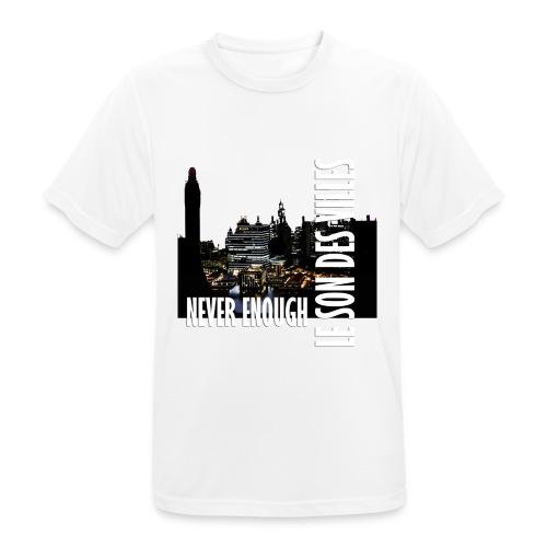 Le Son Des Villes : Vinyl by night - T-shirt respirant Homme