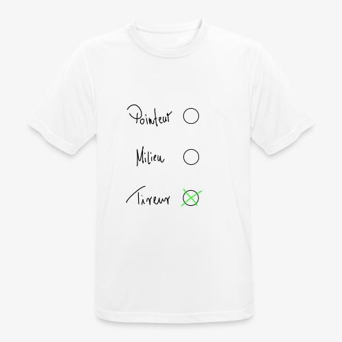 Tireur - Männer T-Shirt atmungsaktiv