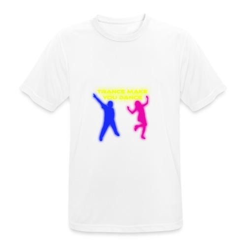 Trance make you dance - Andningsaktiv T-shirt herr
