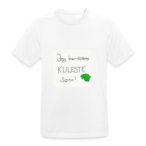 Kul sønn - Pustende T-skjorte for menn