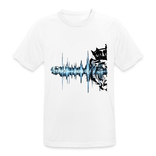 GT soundwave - Pustende T-skjorte for menn