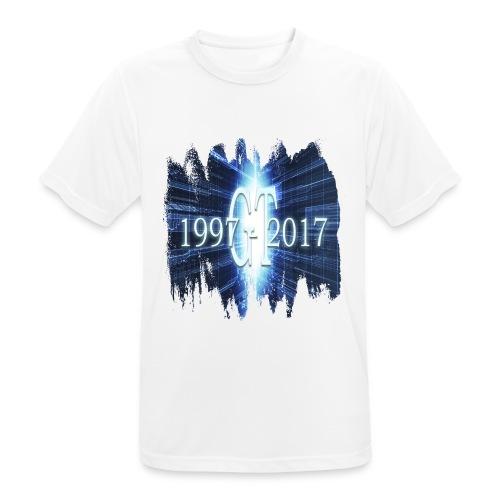 GuttaTur 20 years - Pustende T-skjorte for menn