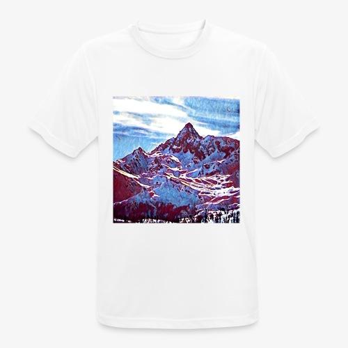 Red Mountain - Maglietta da uomo traspirante