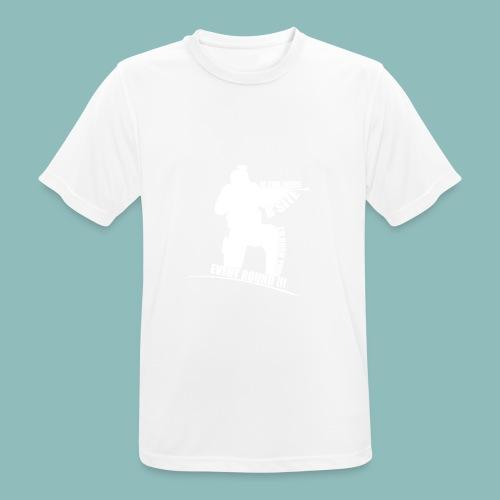 I'd rush you! White Version - Männer T-Shirt atmungsaktiv