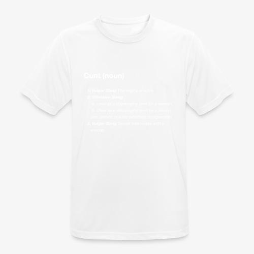 CUNT - Koszulka męska oddychająca