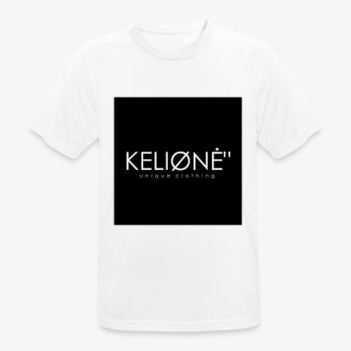 Black KELIØNĖ design - Men's Breathable T-Shirt