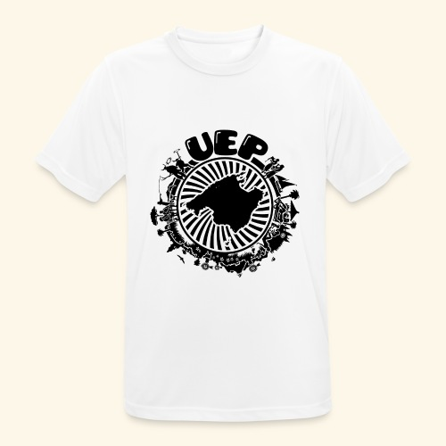 UEP white background - Men's Breathable T-Shirt