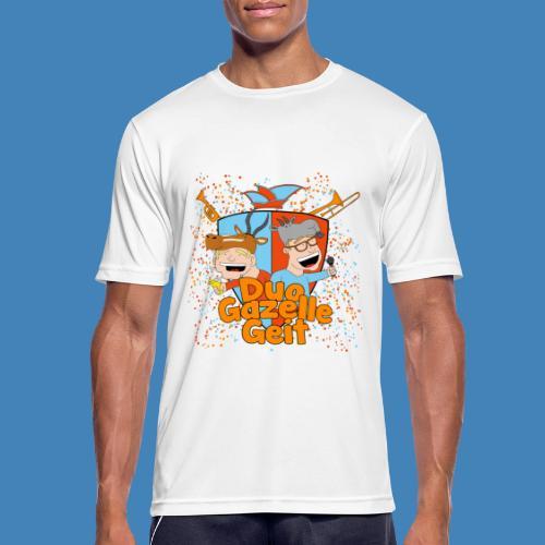 GazelleGeit - Mannen T-shirt ademend actief