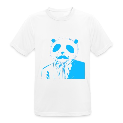 BluePanda Logo - Men's Breathable T-Shirt