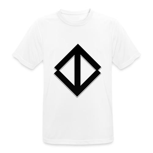 Big Black Logo - Andningsaktiv T-shirt herr