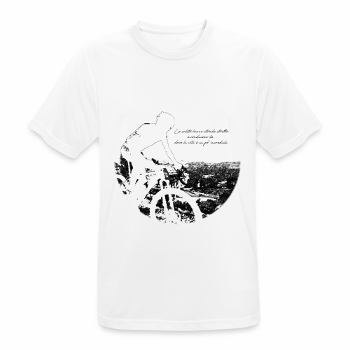 La vita incredula - Maglietta da uomo traspirante