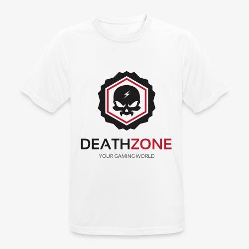 DeathZone Logo Avatar - Koszulka męska oddychająca