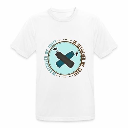 In retriever we trust - T-shirt respirant Homme