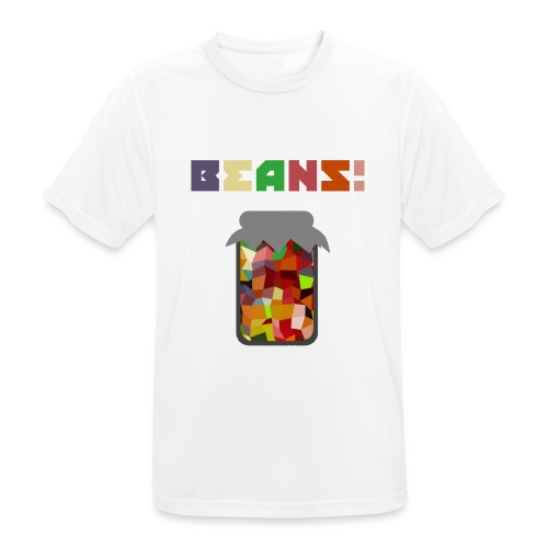BEANS!!!! - Men's Breathable T-Shirt