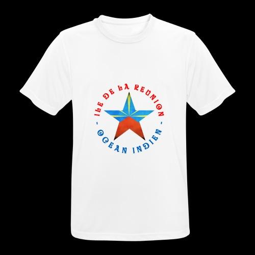 Collection Etoile Lo Mahavéli drapeau régional - T-shirt respirant Homme