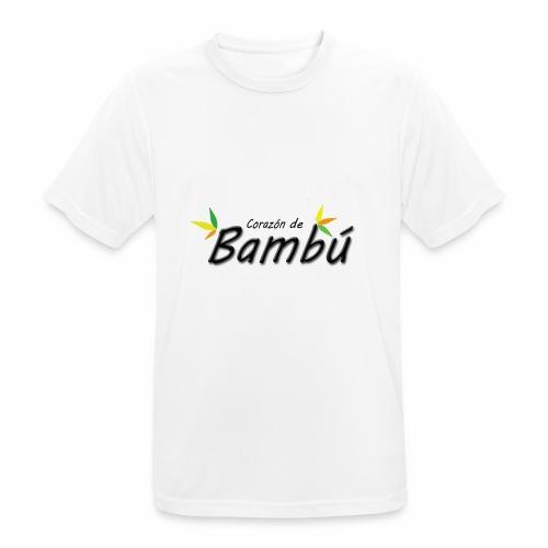 Corazón de bambú - Camiseta hombre transpirable