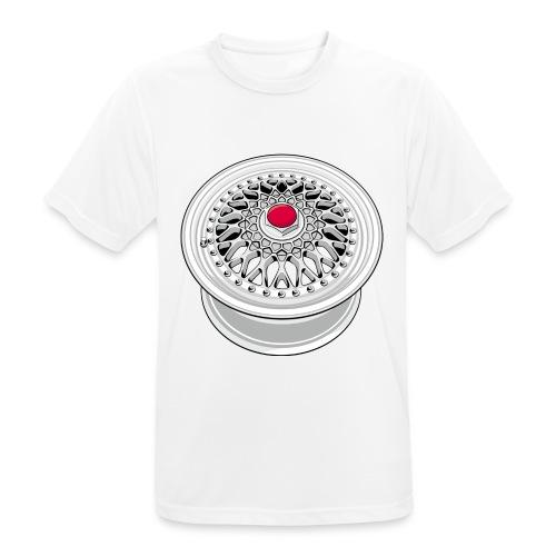 Vintage wheel - T-shirt respirant Homme