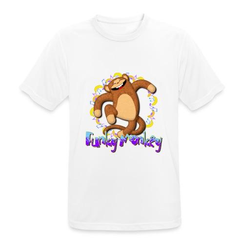 Funky Monkey - Maglietta da uomo traspirante