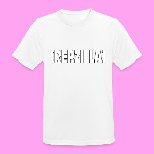 Repzilla Logo - Men's Breathable T-Shirt