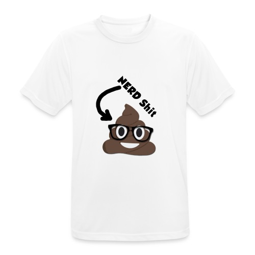 NERD Shit - Männer T-Shirt atmungsaktiv
