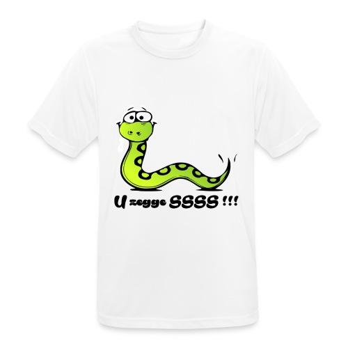 U zegge SSSS !!! - Mannen T-shirt ademend actief