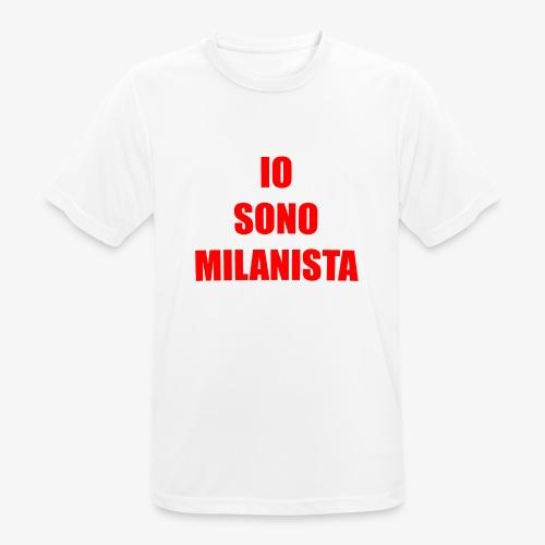 Per veri milanisti - Maglietta da uomo traspirante