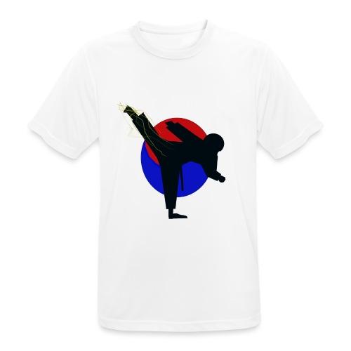 Taekwondo fighter design - Mannen T-shirt ademend actief