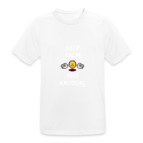 Keep Calm And Knuddel - Männer T-Shirt atmungsaktiv