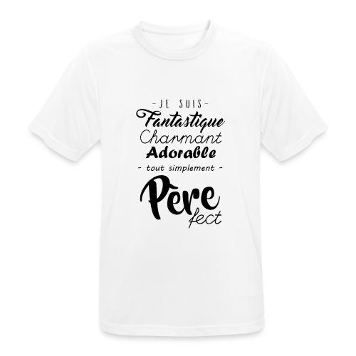 Pere fect - T-shirt respirant Homme