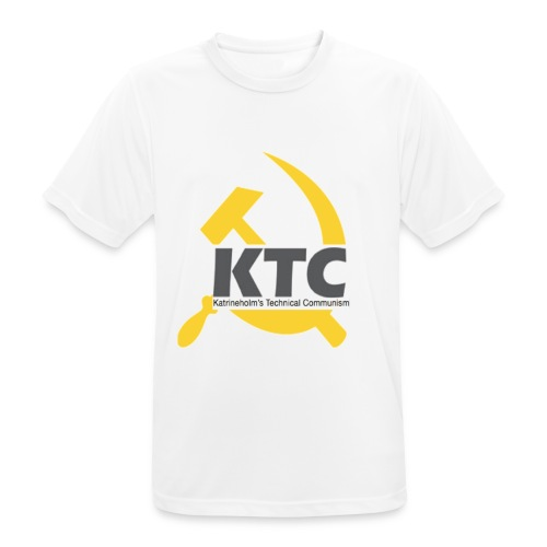 kto communism shirt - Andningsaktiv T-shirt herr