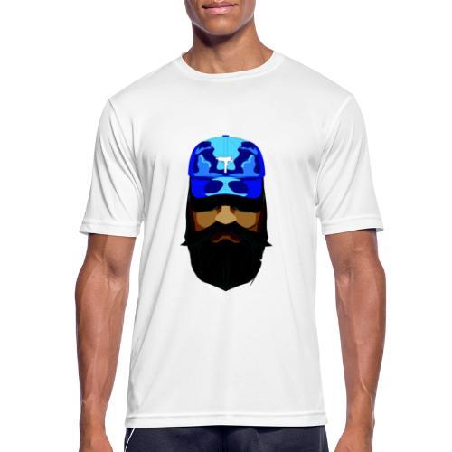 T-shirt gorra dadhat y boso estilo fresco - Camiseta hombre transpirable