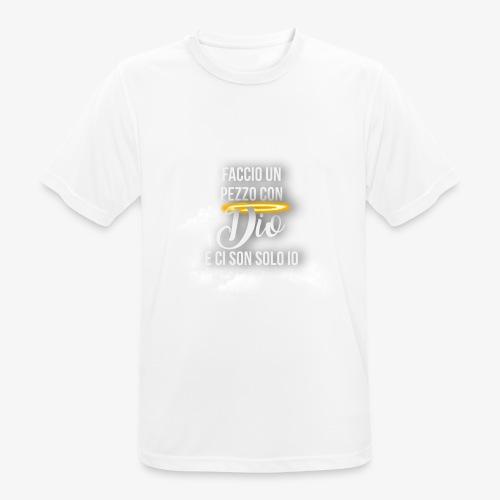 Rap Art Brand - Maglietta da uomo traspirante