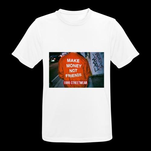 MAKE MONEY NOT FRIENDS - Maglietta da uomo traspirante