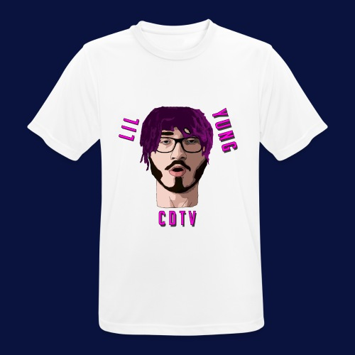 LIL YUNG CDTV - Men's Breathable T-Shirt