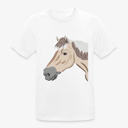 Fjord Pony - Männer T-Shirt atmungsaktiv