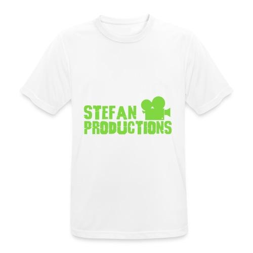 Stefanproductions - mannen T-shirt ademend