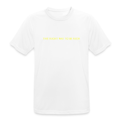 The right way to be rich - T-shirt respirant Homme