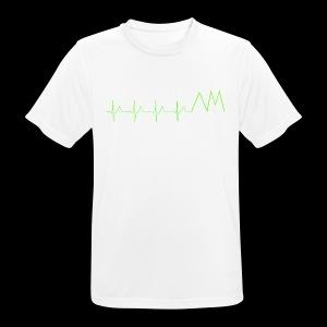 Art&MotionEKG - Männer T-Shirt atmungsaktiv
