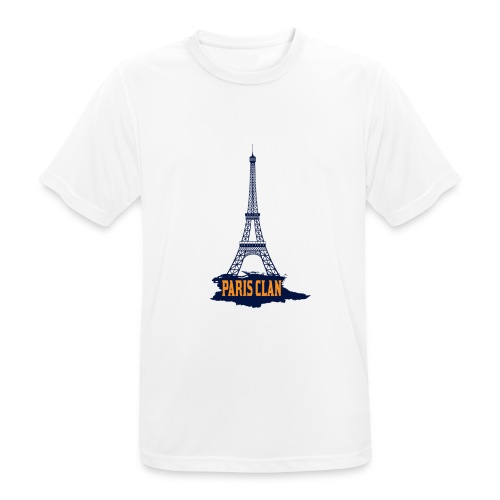 Paris Eiffel - Men's Breathable T-Shirt