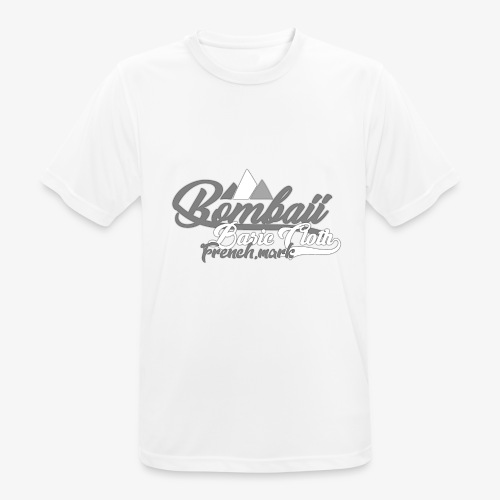 BomBaii french mountain grey - T-shirt respirant Homme