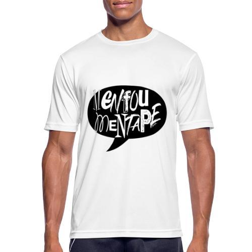 La bulle MENFOUMENTAPE by Alice Kara - T-shirt respirant Homme