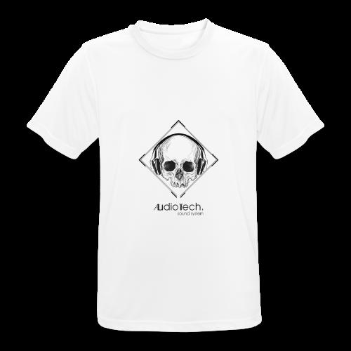 © Audiotech Skull - Männer T-Shirt atmungsaktiv