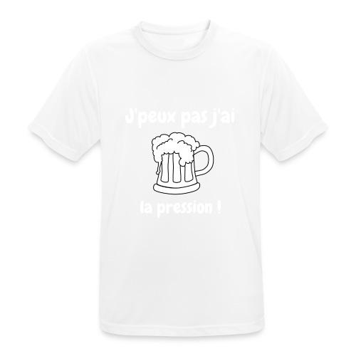 j'peux pas j'ai la pression - T-shirt respirant Homme